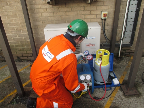 F-Gas compliance inspections